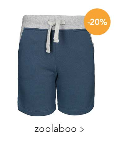 Sweat-Shorts SUMMER SPORTS in dunkelblau/grau meliert von zoolaboo