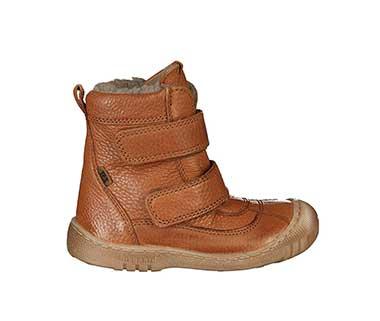 Winter-Boots COZY TEX gefüttert in cognac von bisgaard