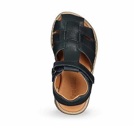 Klett-Sandalen LIKA mit Zehenschutz in dunkelblau
