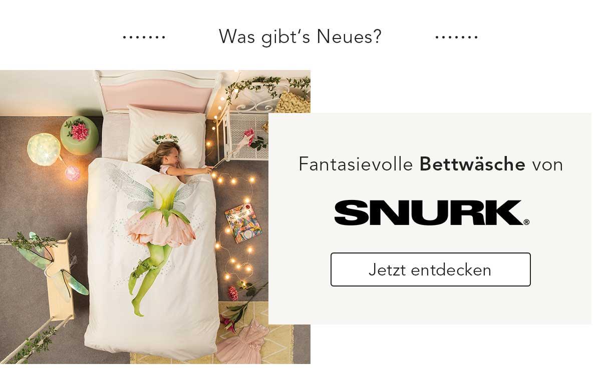 Fantasievolle Bettwäsche von SNURK entdecken