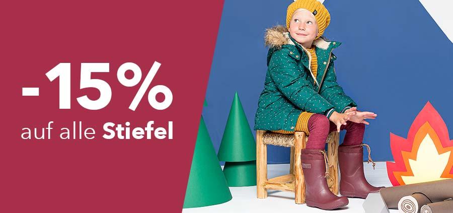 -15% auf Stiefel
